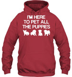 Hoodie - 'Pet The Puppies' Hoodies