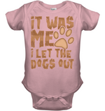 'I Let The Dogs Out' Onesies