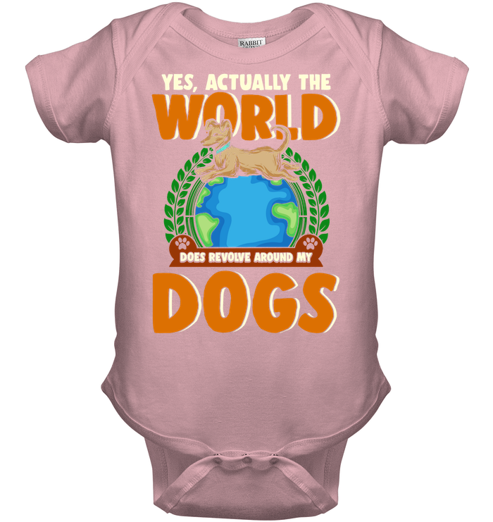 'World Revolves Around My Dogs' Onesies