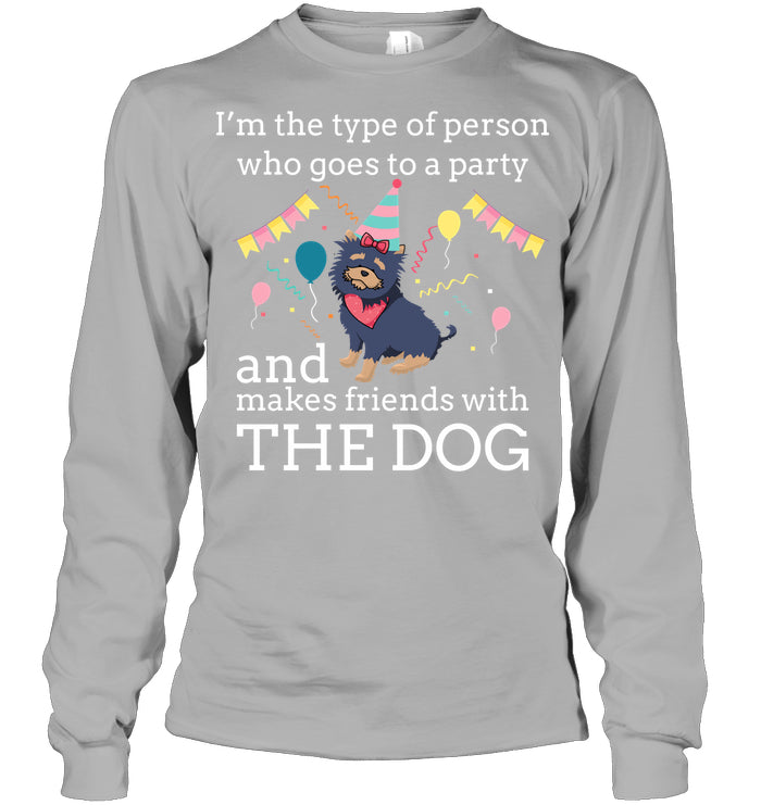 Long Sleeve - 'Dog Party' Long Sleeves