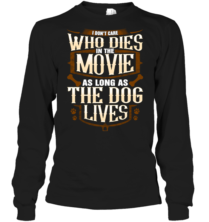 Long Sleeve - 'The Dog Lives' Long Sleeves