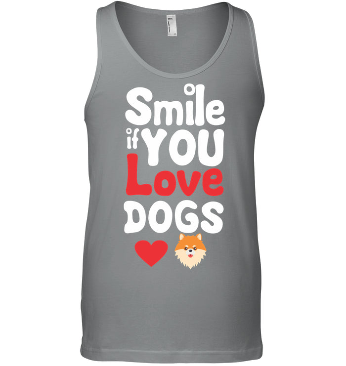 Unisex Tank - 'Smile If You Love Dogs' Tanks