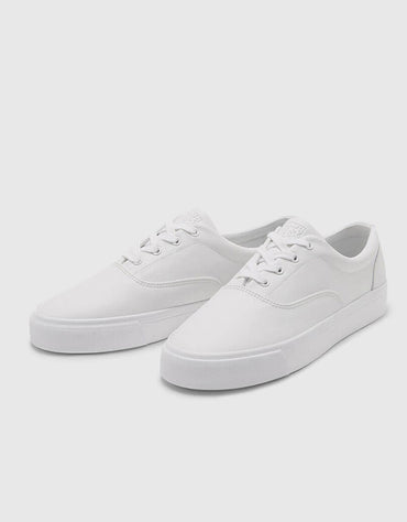 Simple White Shoes