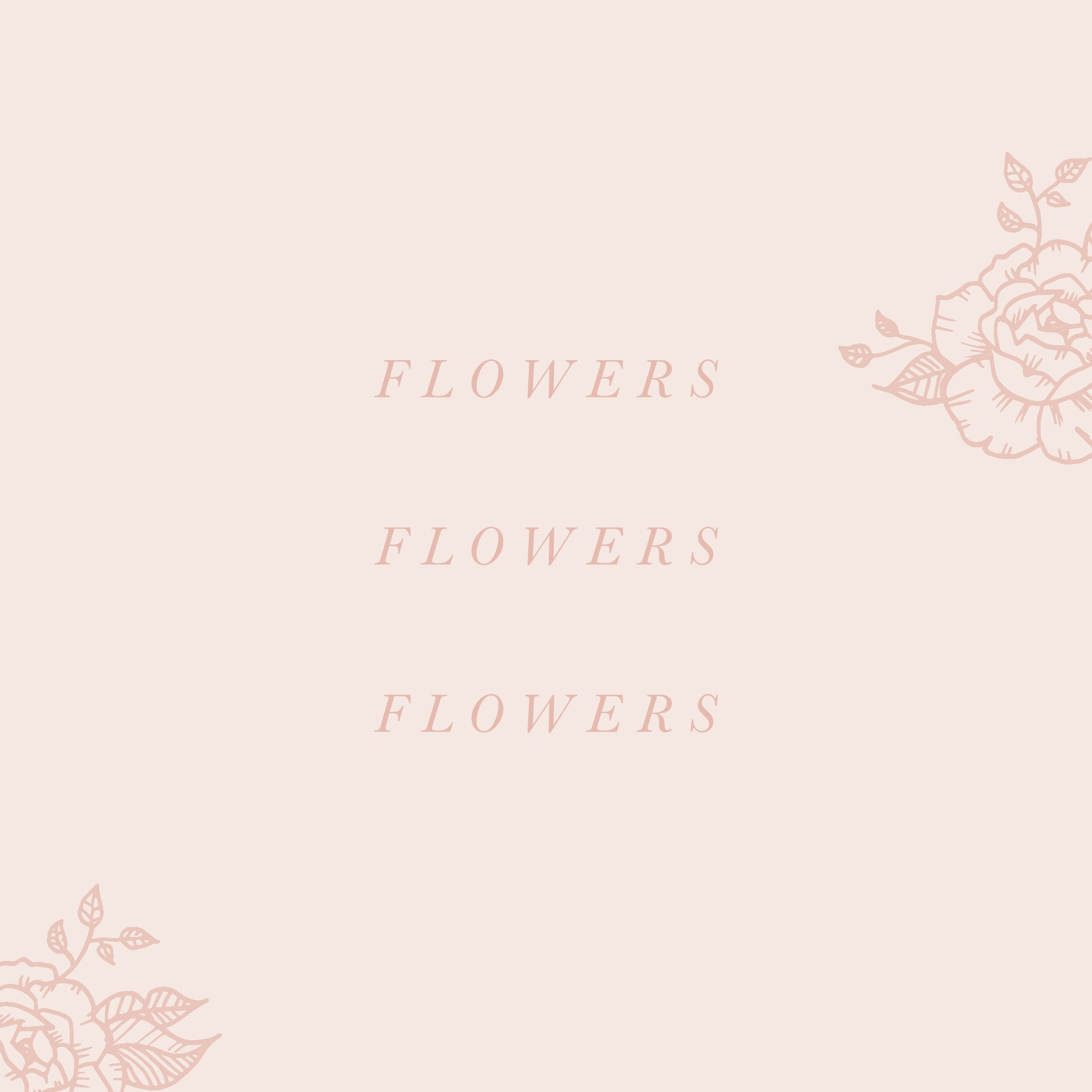 Floral branding suite (customizable)