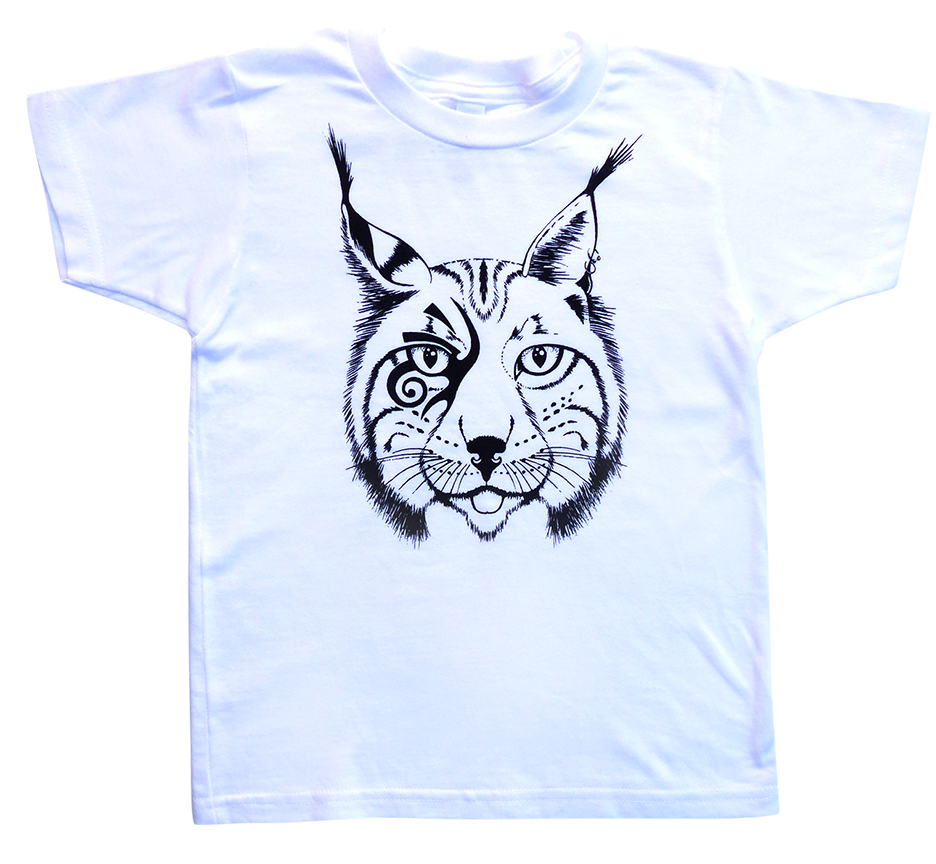 The Lincoln Lynx Tee in White