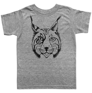 The Lincoln Lynx Tee in Tri-Blend Grey