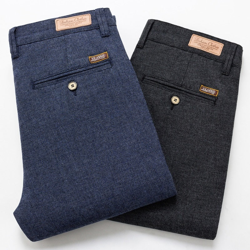 Slim Classic Casual Pants