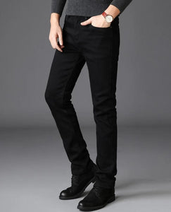 Classic Black Slim Fit Jeans - Kings Of Everything