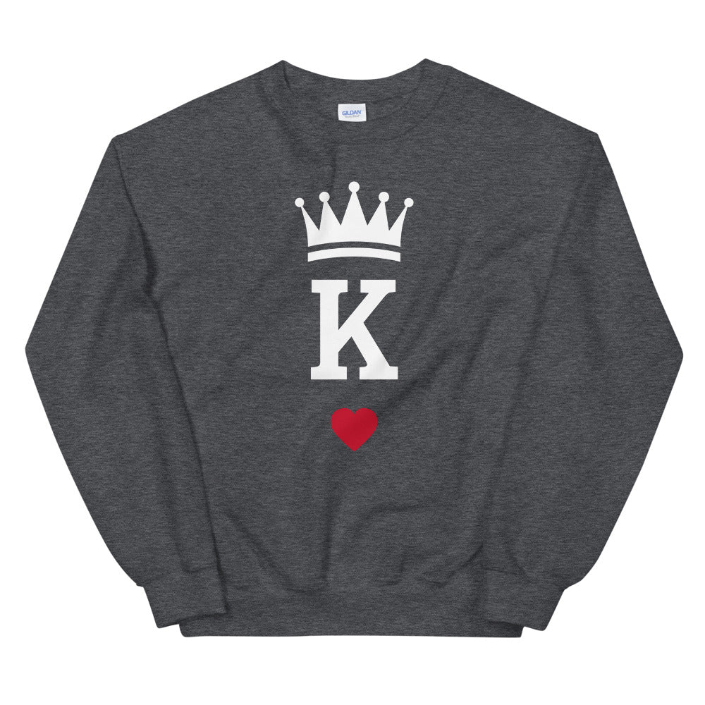 King of Hearts Sweatshirt - Kings Of Everything
