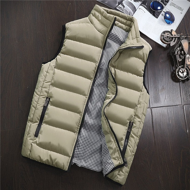 Casual Padded Vest Coat - Kings Of Everything