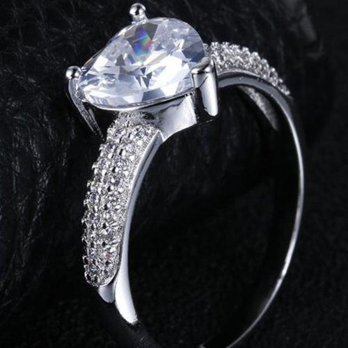 Shaped Heart Ring