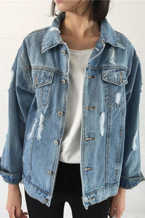 Basic Coat Denim Jacket