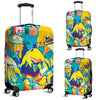 Artistic Printed Luggage Covers – Abstract Floral Series 01 - high quality prints by Melbourne-born artist Lois Campbell, well renowned for her bright colors and bold, spontaneous strokes. Unique to MyEmporium.com - a world of style just for you