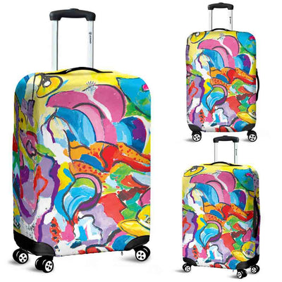 Artistic Printed Luggage Covers – Abstract Series 04 - high quality prints by Melbourne-born artist Lois Campbell, well renowned for her bright colors and bold, spontaneous strokes. Unique to MyEmporium.com - a world of style just for you