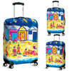Artistic Printed Luggage Covers – Bathing Box Series 03 - high quality prints by Melbourne-born artist Lois Campbell, well renowned for her bright colors and bold, spontaneous strokes. Unique to MyEmporium.com - a world of style just for you