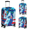 Artistic Printed Luggage Covers – Boating Series 01 - high quality prints by Melbourne-born artist Lois Campbell, well renowned for her bright colors and bold, spontaneous strokes. Unique to MyEmporium.com - a world of style just for you