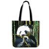Artistic Printed Tote Bags for Women - Panda Bear