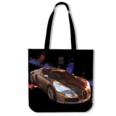 Poly-Cotton Tote Bags for Men - Prestige Car Series 01