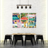 Café Culture - Framed Quality Canvas Prints - Signature Collection 03