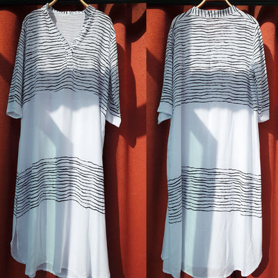 Women's Dresses – Casual Summer Free-Style One Size