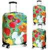 Artistic Printed Luggage Covers – Flowers Series 01 - high quality prints by Melbourne-born artist Lois Campbell, well renowned for her bright colors and bold, spontaneous strokes. Unique to MyEmporium.com - a world of style just for you