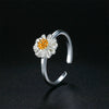 Women's Handmade Chrysanthemum Flower Ring