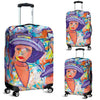 Artistic Printed Luggage Covers – Horse Racing Series 04 - high quality prints by Melbourne-born artist Lois Campbell, well renowned for her bright colors and bold, spontaneous strokes. Unique to MyEmporium.com - a world of style just for you