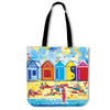 Poly-Cotton Tote Bags for Women - Bathing Boxes - Lois Campbell
