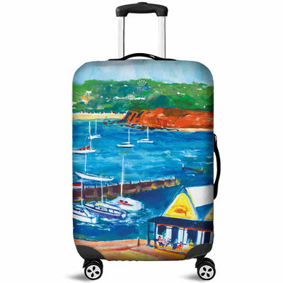 Artistic Printed Luggage Covers – Boating Series 03 - high quality prints by Melbourne-born artist Lois Campbell, well renowned for her bright colors and bold, spontaneous strokes. Unique to MyEmporium.com - a world of style just for you