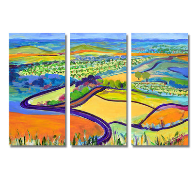 Cheerful Landscapes - Framed Quality Canvas Prints - Signature Collection 02