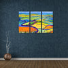 Cheerful Landscapes - Framed Quality Canvas Prints - Signature Collection 01