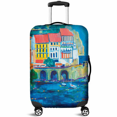 Artistic Printed Luggage Covers – Boating Series 05 - high quality prints by Melbourne-born artist Lois Campbell, well renowned for her bright colors and bold, spontaneous strokes. Unique to MyEmporium.com - a world of style just for you