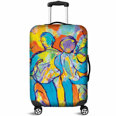 Artistic Printed Luggage Covers – Party Series 01 - high quality prints by Melbourne-born artist Lois Campbell, well renowned for her bright colors and bold, spontaneous strokes. Unique to MyEmporium.com - a world of style just for you