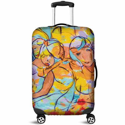 Artistic Printed Luggage Covers – Party Series 02 - high quality prints by Melbourne-born artist Lois Campbell, well renowned for her bright colors and bold, spontaneous strokes. Unique to MyEmporium.com - a world of style just for you