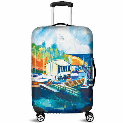 Artistic Printed Luggage Covers – Boating Series 02 - high quality prints by Melbourne-born artist Lois Campbell, well renowned for her bright colors and bold, spontaneous strokes. Unique to MyEmporium.com - a world of style just for you
