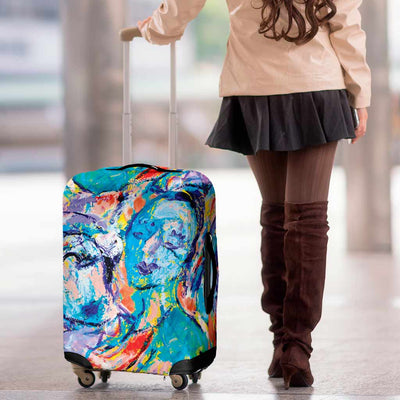 Artistic Printed Luggage Covers – Party Series 03 - high quality prints by Melbourne-born artist Lois Campbell, well renowned for her bright colors and bold, spontaneous strokes. Unique to MyEmporium.com - a world of style just for you