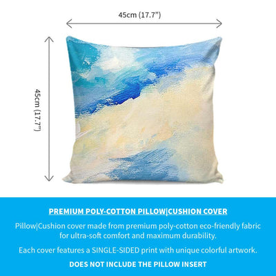 Colourful Artistic Paintings as Premium Pillow Cushion Covers - Clouds