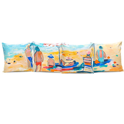 Complete Set of Premium Pillow Cushion Covers - Beach 01