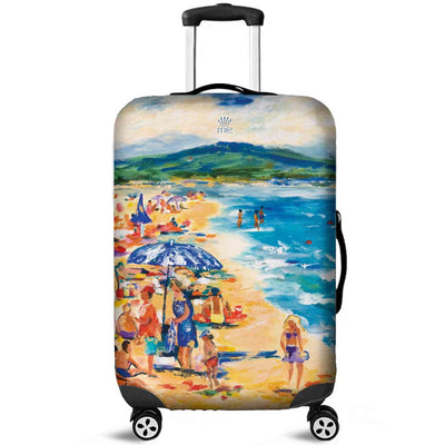 Artistic Printed Luggage Covers – Beaches Series 001-02 - high quality prints by Melbourne-born artist Lois Campbell, well renowned for her bright colors and bold, spontaneous strokes. Unique to MyEmporium.com - a world of style just for you