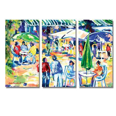 Café Culture - Framed Quality Canvas Prints - Signature Collection 01