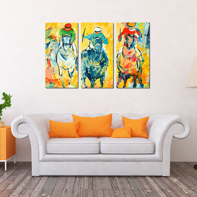 Custom Framed Quality Canvas Prints - Signature Collection - Horse-Racing