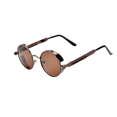 Vintage HD Polarized Steampunk Sunglasses for Women