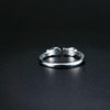 Women's Sterling Silver Twin-Fish Ring