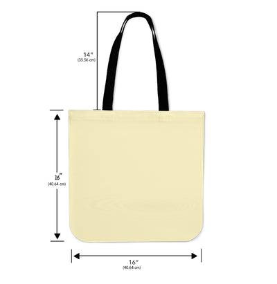 Artistic Printed Tote Bags for Men - Panda Bear