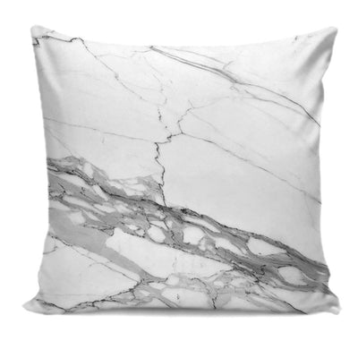 Designer-Style Calacatta Stone Printed Premium Pillow Cushion Covers 01