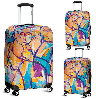 Artistic Printed Luggage Covers – Market Series 01 - high quality prints by Melbourne-born artist Lois Campbell, well renowned for her bright colors and bold, spontaneous strokes. Unique to MyEmporium.com - a world of style just for you