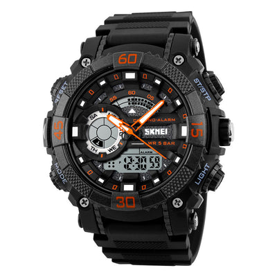 Military-Style LED Digital Analog Sports Watch for Men - nice watches for men