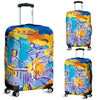 Artistic Printed Luggage Covers – Musicians Series 01 - high quality prints by Melbourne-born artist Lois Campbell, well renowned for her bright colors and bold, spontaneous strokes. Unique to MyEmporium.com - a world of style just for you