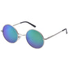 Polarized Round Designer Sunglasses for Men