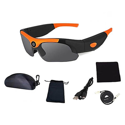 Sports Sunglasses for Men With Wide-Angle HD Digital Video Recorder